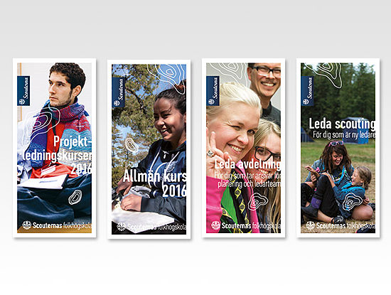 Digitaltryck foldrar till Scouterna