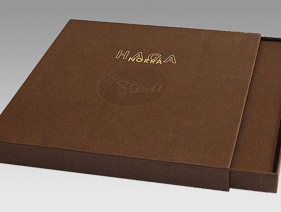 Kreativ förpackning gjord av PÅ Media Tryckeri